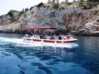 Boat tour of the Salento Adriatic coast